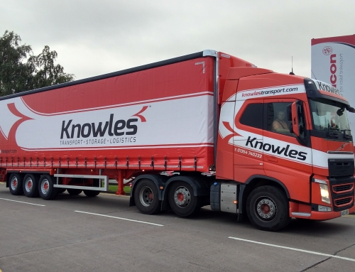 Knowles Transport Order 20 Postless Curtainsiders From Montracon