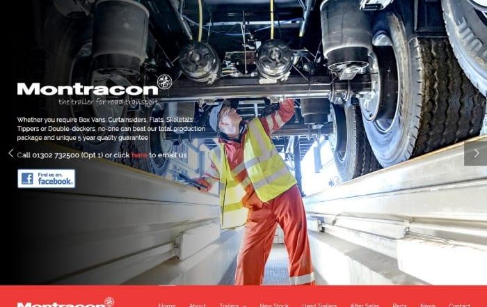 Montracon's new website