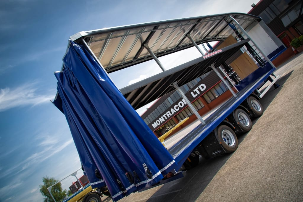 Montracon's curtainsiders 2