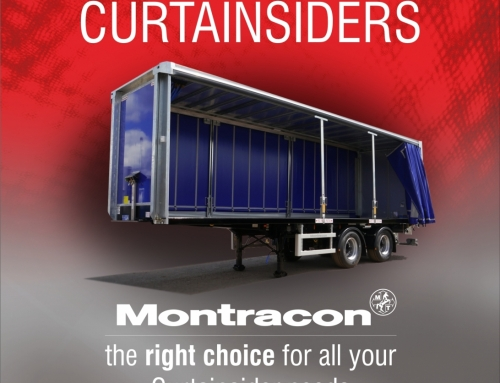 Montracon's Curtainsiders are Specifically Tailored for the Job