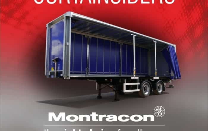 Montracon's curtainsiders