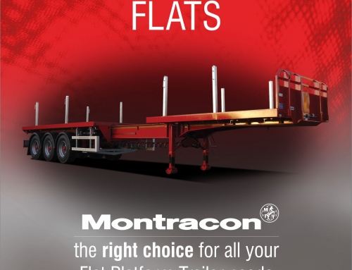 Discover the Range of Options with Montracon's Flat Platform Trailers